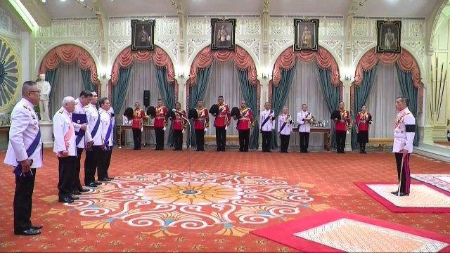 สมเด็จพระบรมโอรสาธิราชฯ ดำรัสตอบรับการขึ้นทรงราชย์