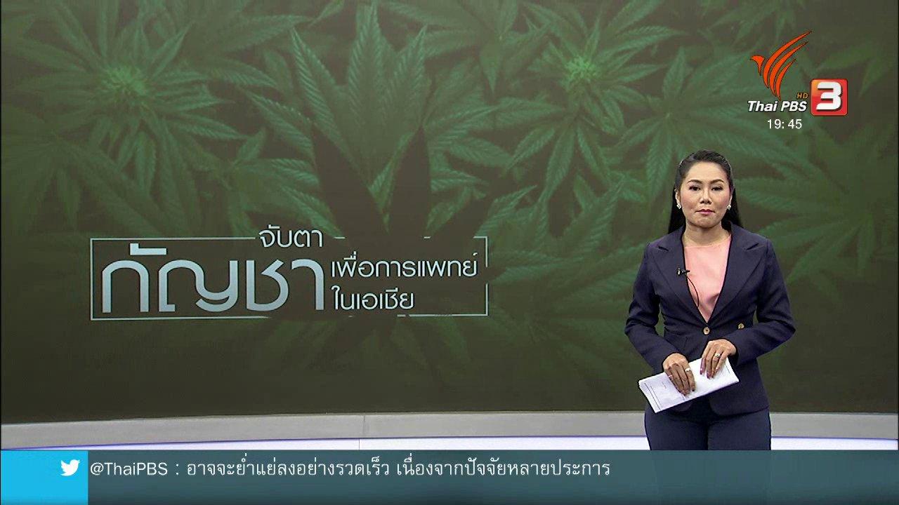 ข่าวค่ำ มิติใหม่ทั่วไทย - วิเคราะห์สถานการณ์ต่างประเทศ : มาเลเซียกับการใช้กัญชาทางการแพทย์ถูกกฎหมาย