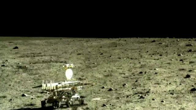 """จีนเผยภาพพื้นผิวดวงจันทร์ที่มีความคมชัดสูงจากยาน """"จ้างเก๋อ-3"""""""