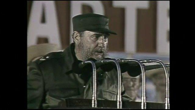 """เส้นทางการแสดงของ """"ฟิเดล คาสโตร"""" อดีตผู้นำผู้ล่วงลับของคิวบา"""