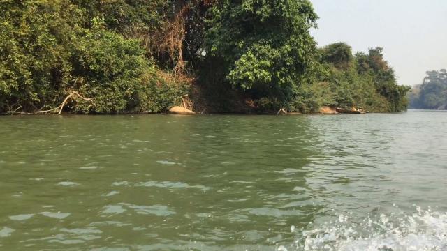 ล่องแม่น้ำเซซานไปที่หมู่บ้านปลุก จ.สตึงเตรง กัมพูชา ใต้เขื่อนเซซานตอนล่าง 2