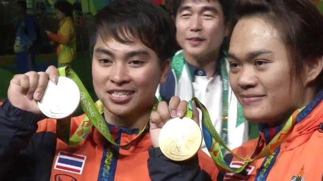 """""""น้องฝ้าย"""" สุกัญญา เปิดใจหลังได้เหรียญทองโอลิมปิก"""