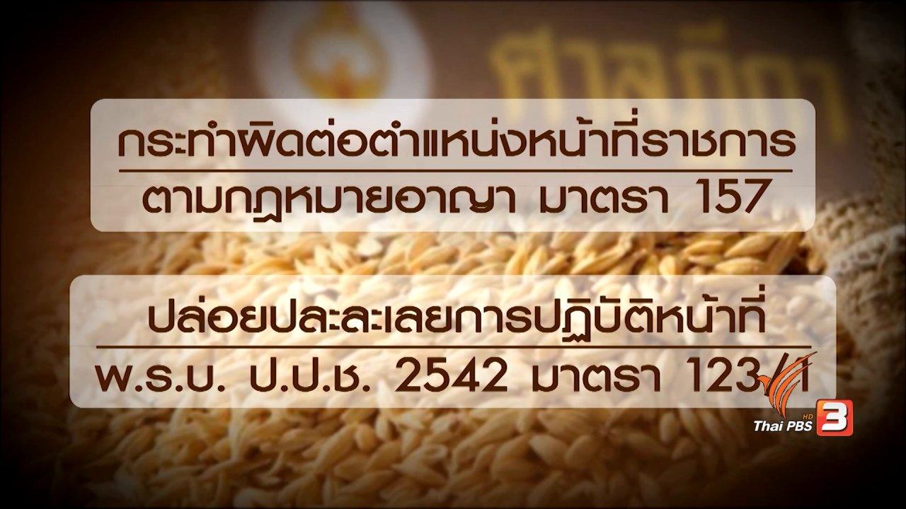 """ข่าวเจาะย่อโลก - 25 สิงหาคม ชี้ชะตา""""จำนำข้าว"""" วิเคราะห์รัฐธรรมนูญ 2560 เปิดช่องยื่นอุทธรณ์"""