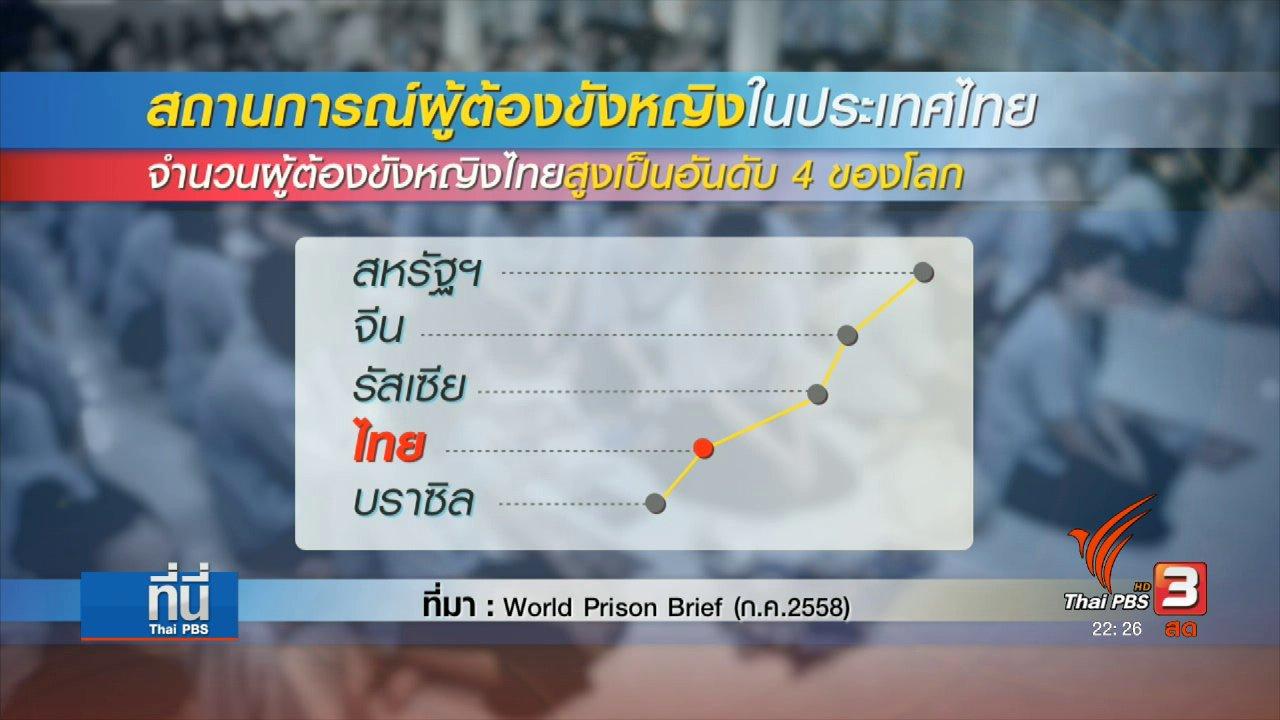 """ที่นี่ Thai PBS - Social Talk : สาเหตุ""""ผู้ต้องขังหญิงไทย""""สูงเป็นอันดับ 4 ของโลก"""