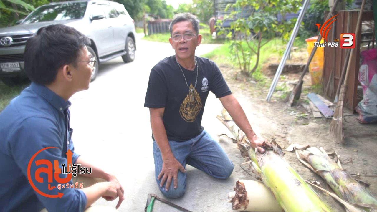ลุยไม่รู้โรย สูงวัยดี๊ดี - สูงวัยไทยแลนด์ : ช่างแทงหยวกกล้วย