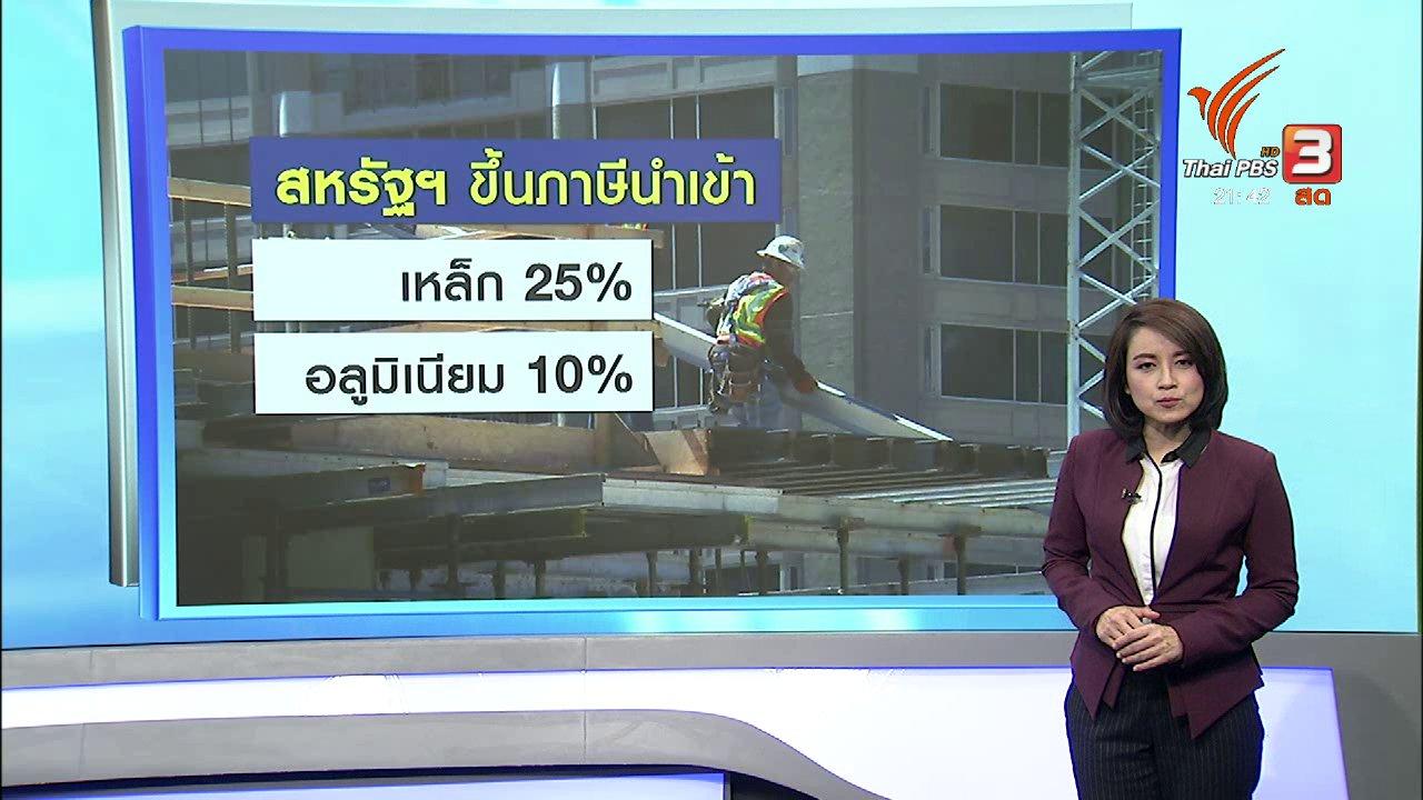 ที่นี่ Thai PBS - สงครามการค้าระดับโลก ?