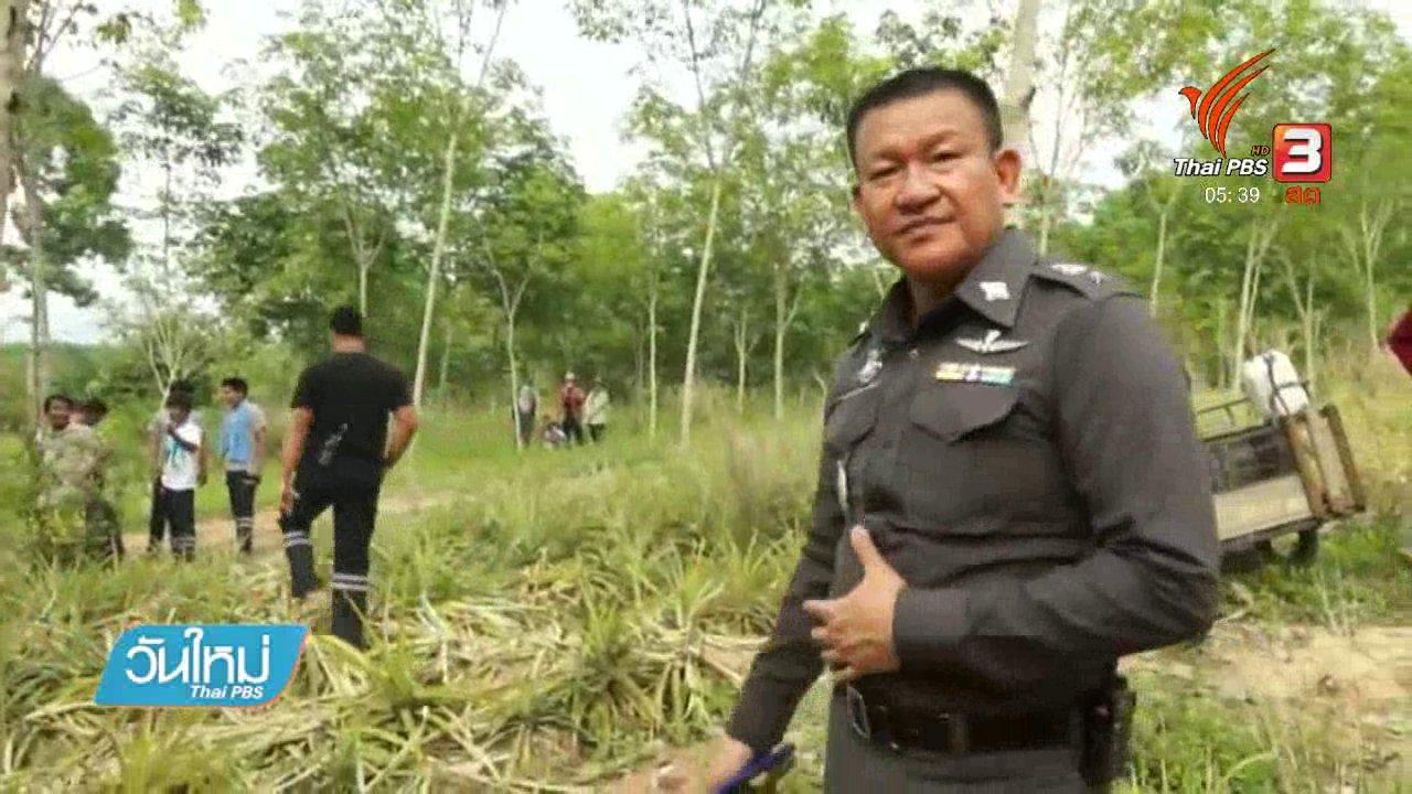 วันใหม่  ไทยพีบีเอส - ช้างป่าถูกกระแสไฟฟ้าช็อตตาย จ.ชลบุรี