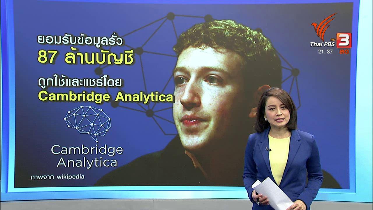 ที่นี่ Thai PBS - Facebook ปรับมาตรการเรียกความเชื่อมั่น
