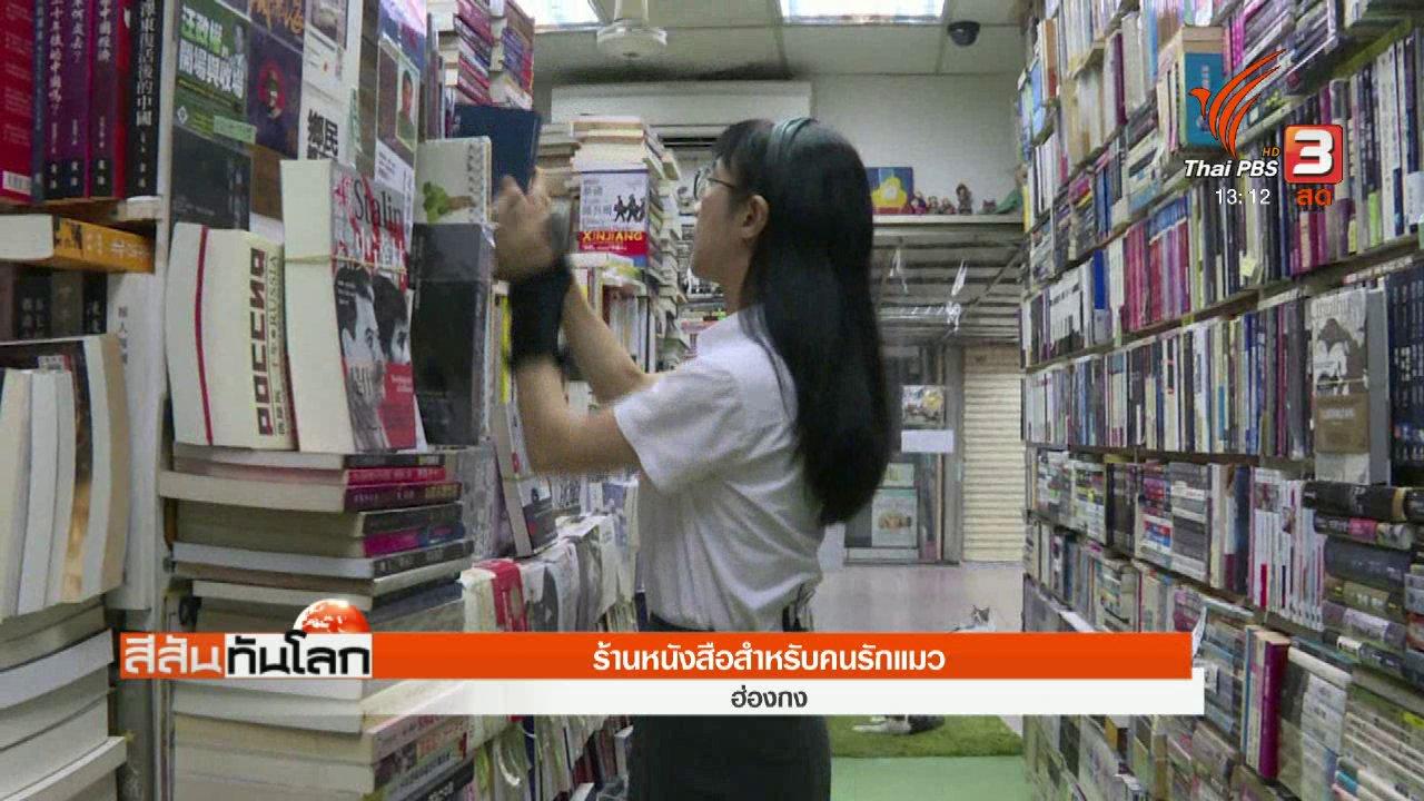 สีสันทันโลก - ร้านหนังสือสำหรับคนรักแมว