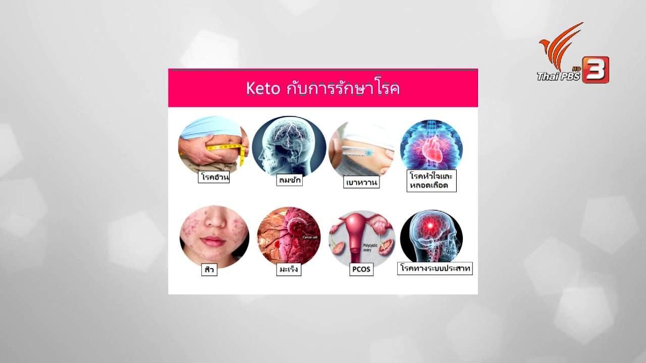 คนสู้โรค - ปรับก่อนป่วย : วิถี Ketogenic