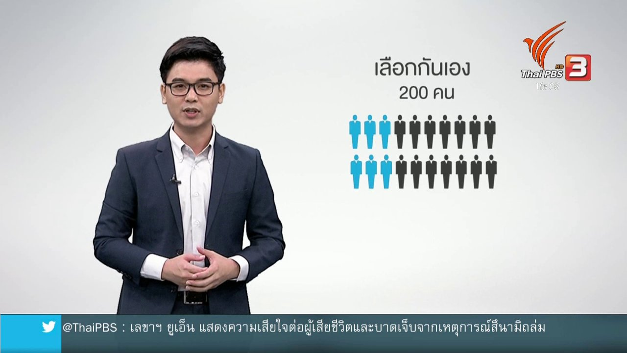 ข่าวค่ำ มิติใหม่ทั่วไทย - สว.ตั้งแต่สมัครถึง คสช.