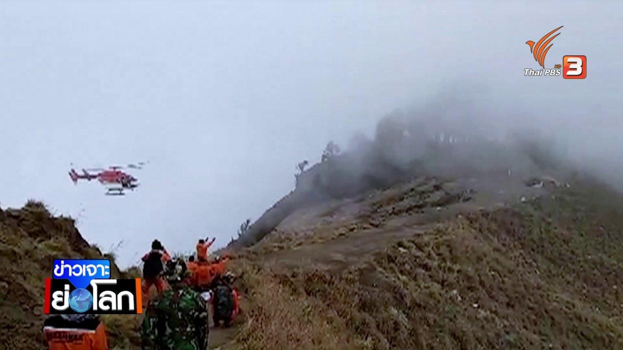 ข่าวเจาะย่อโลก - ปี 2561 ปีแห่งภัยพิบัติอินโดนีเซีย แผ่นดินไหว ภูเขาไฟระเบิด คลื่นสึนามิ