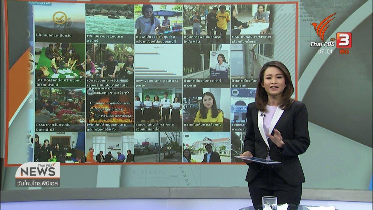วันใหม่  ไทยพีบีเอส - C-site Report : ปัญหาฝุ่นควันในภาคเหนือ