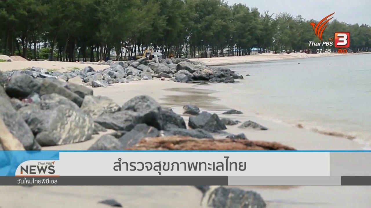 วันใหม่  ไทยพีบีเอส - C-site Report : การจัดการขยะจากทะเลไทย