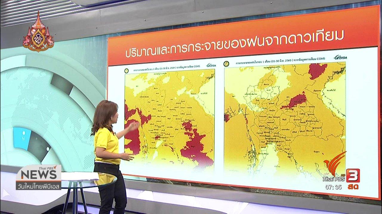 วันใหม่  ไทยพีบีเอส - ส่องความเสี่ยง : วิเคราะห์สถานการณ์ภัยแล้ง