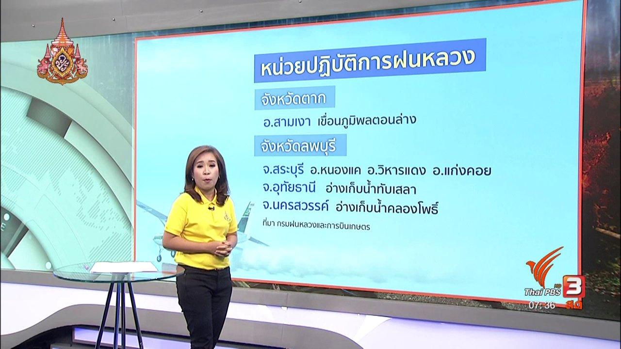 วันใหม่  ไทยพีบีเอส - ส่องความเสี่ยง : ส่งเสริมเยาวชนผลิตหนังสั้นด้านภัยพิบัติเพื่อสร้างการเรียนรู้