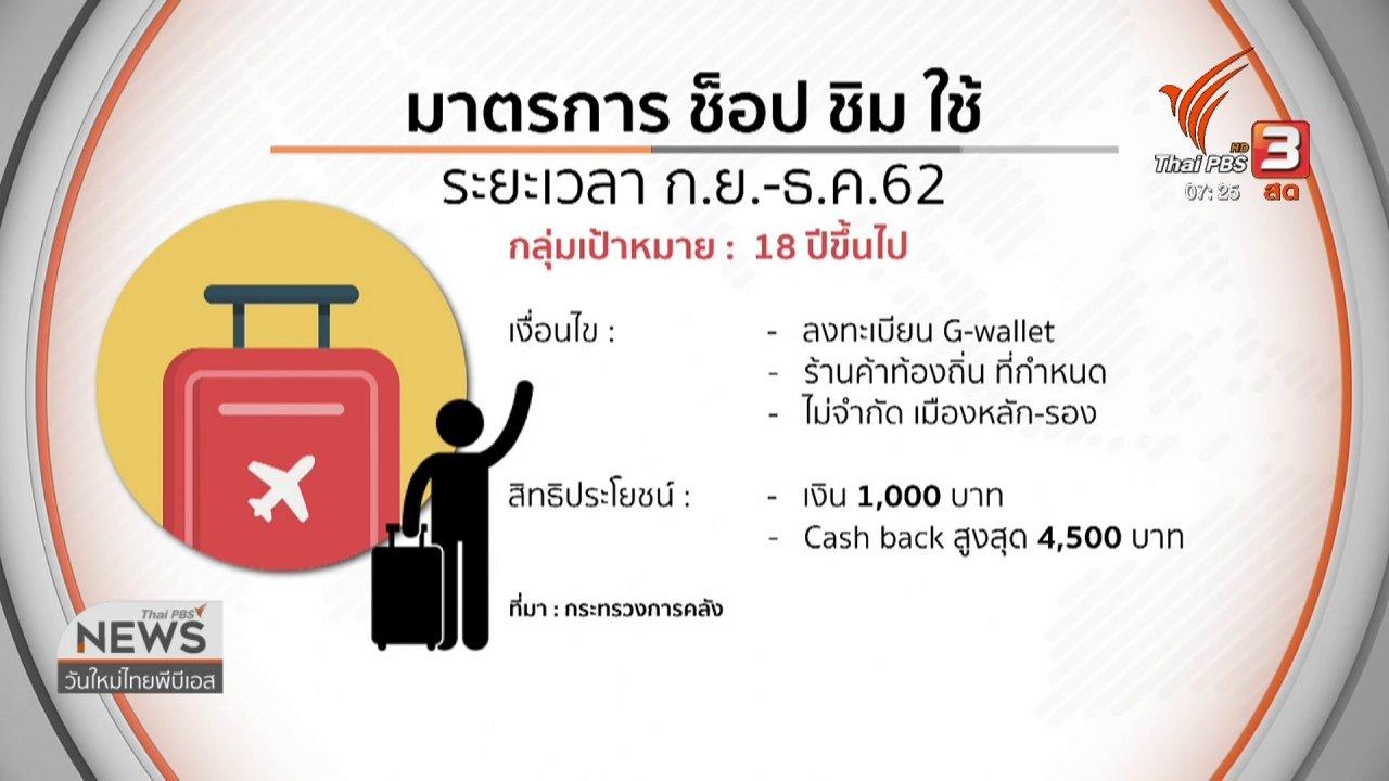 วันใหม่  ไทยพีบีเอส - ลงทุนทำกิน : ครม.เคาะมาตรการกระตุ้นเศรษฐกิจ 3.16 แสนล้านบาท