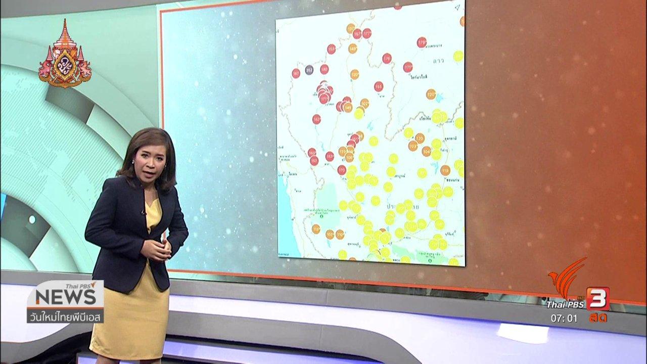 วันใหม่  ไทยพีบีเอส - ทวงคืนอากาศบริสุทธิ์ : เกษตรกรเตรียมปลูกข้าวโพดหน้าแล้ง