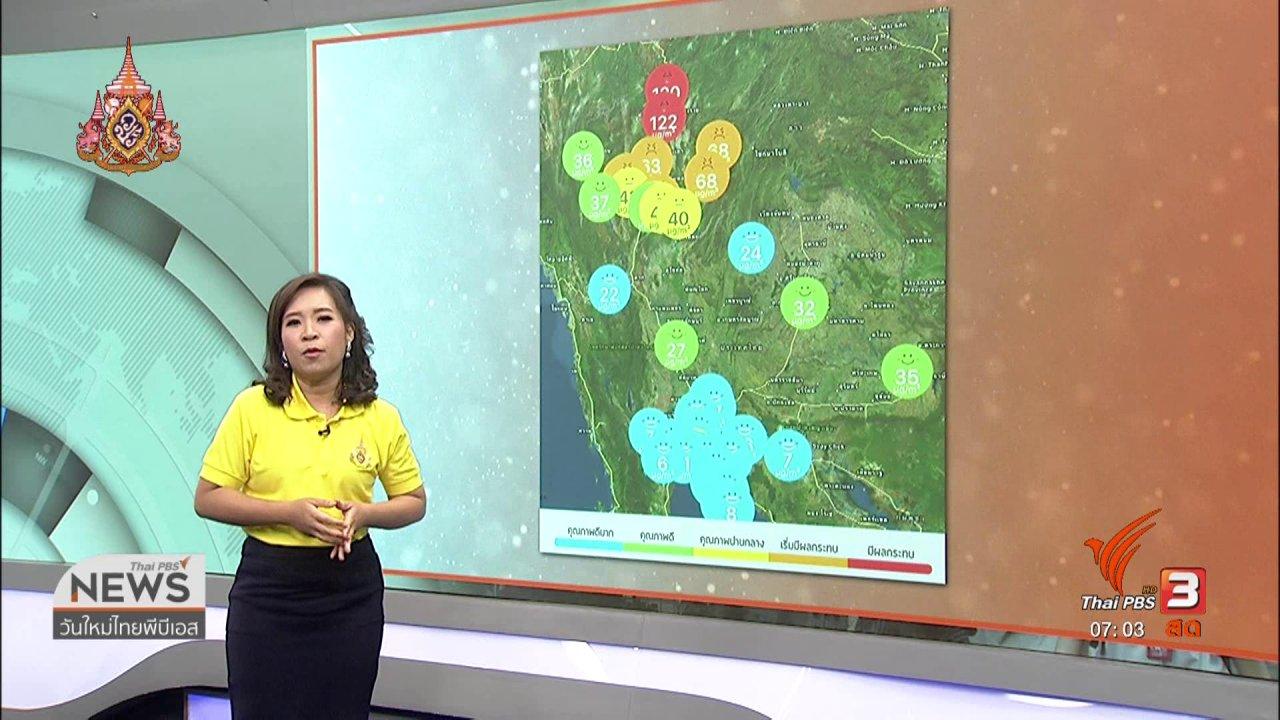 วันใหม่  ไทยพีบีเอส - ทวงคืนอากาศบริสุทธิ์ : การดับไฟจากไฟฟ้าลัดวงจร