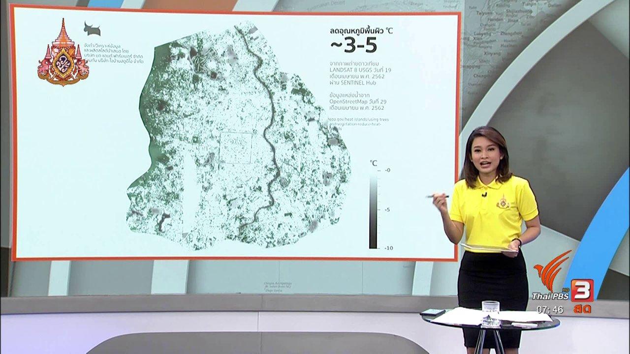 วันใหม่  ไทยพีบีเอส - C-site Report : ภาคประชาชนเชียงใหม่ ร่วมเพิ่มพื้นที่สีเขียว