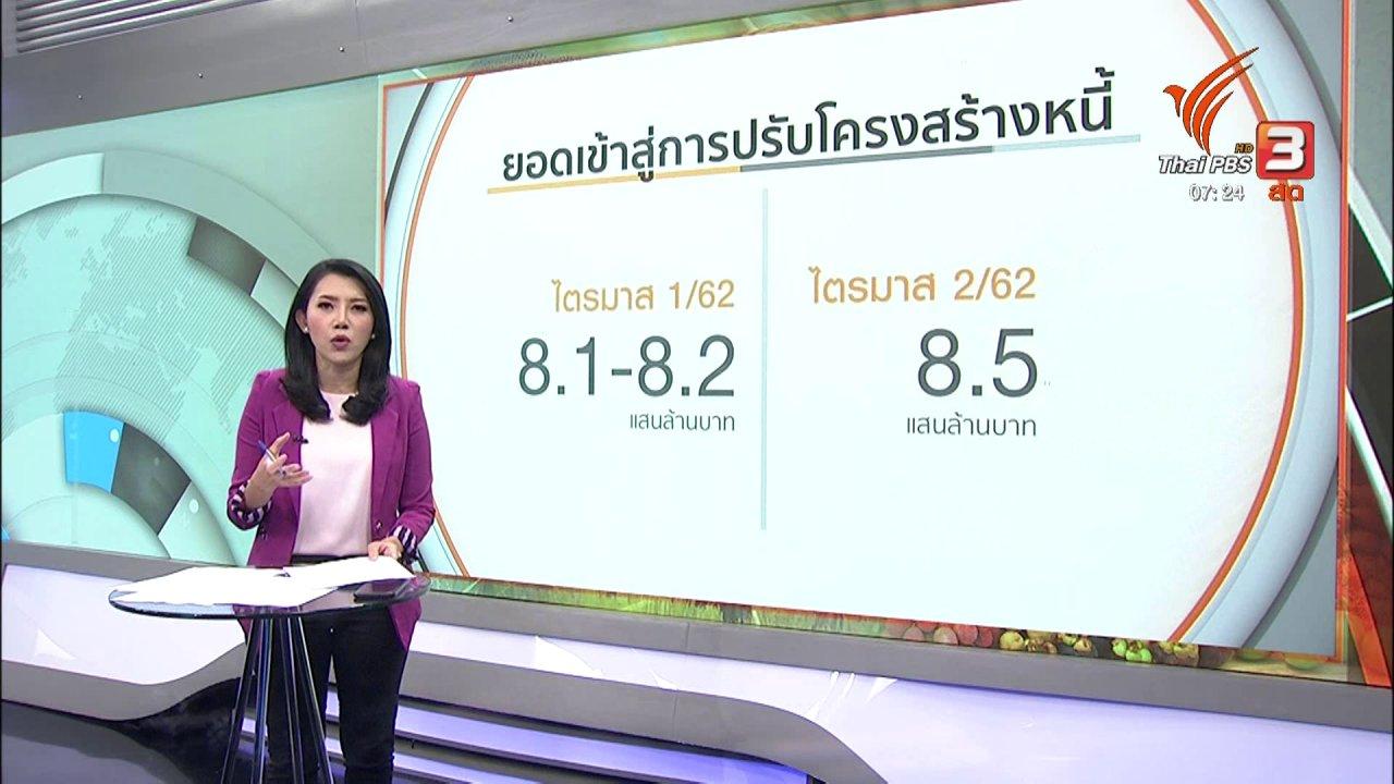 วันใหม่  ไทยพีบีเอส - ชั่วโมงทำกิน : หนี้ครัวเรือนพุ่งสูงสุดในรอบ 2 ปี