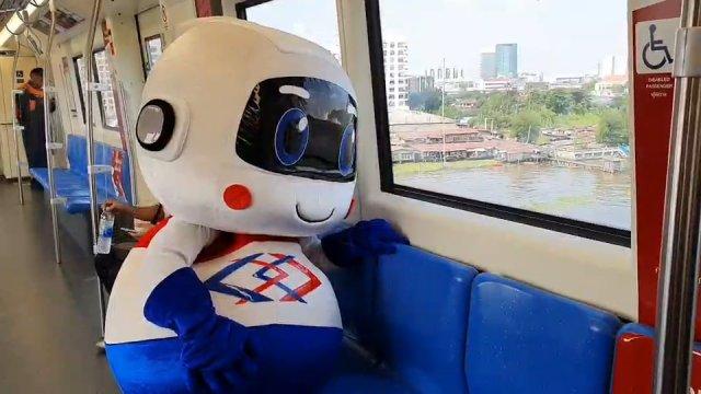 เปิดทดลองใช้บริการรถไฟฟ้าสายสีน้ำเงิน ส่วนต่อขยาย จากสถานีเตาปูน – สถานีสิรินธร