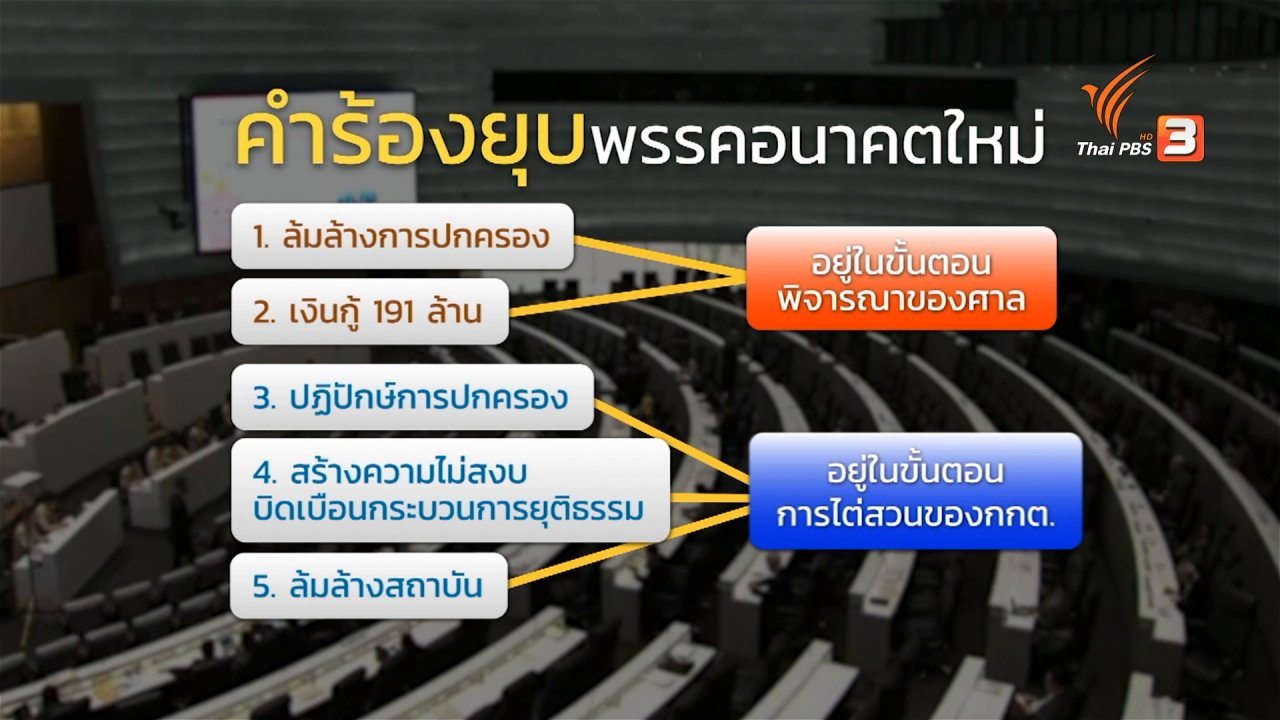 ห้องข่าว ไทยพีบีเอส NEWSROOM - 2563 ชี้ชะตาอนาคตใหม่