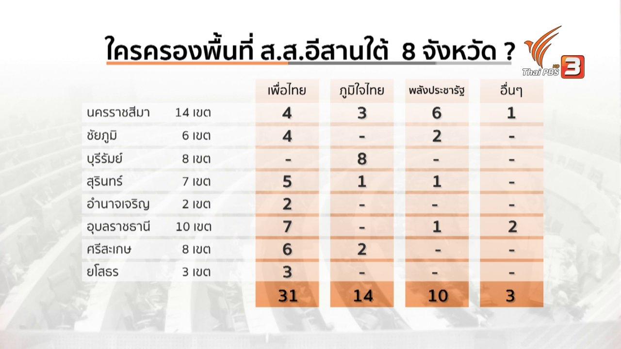 วันใหม่  ไทยพีบีเอส - มุม(การ)เมือง : จับตาดีลย้ายขั้ว กระแสข่าวกลุ่มสามมิตร คุย ส.ส.เพื่อไทย