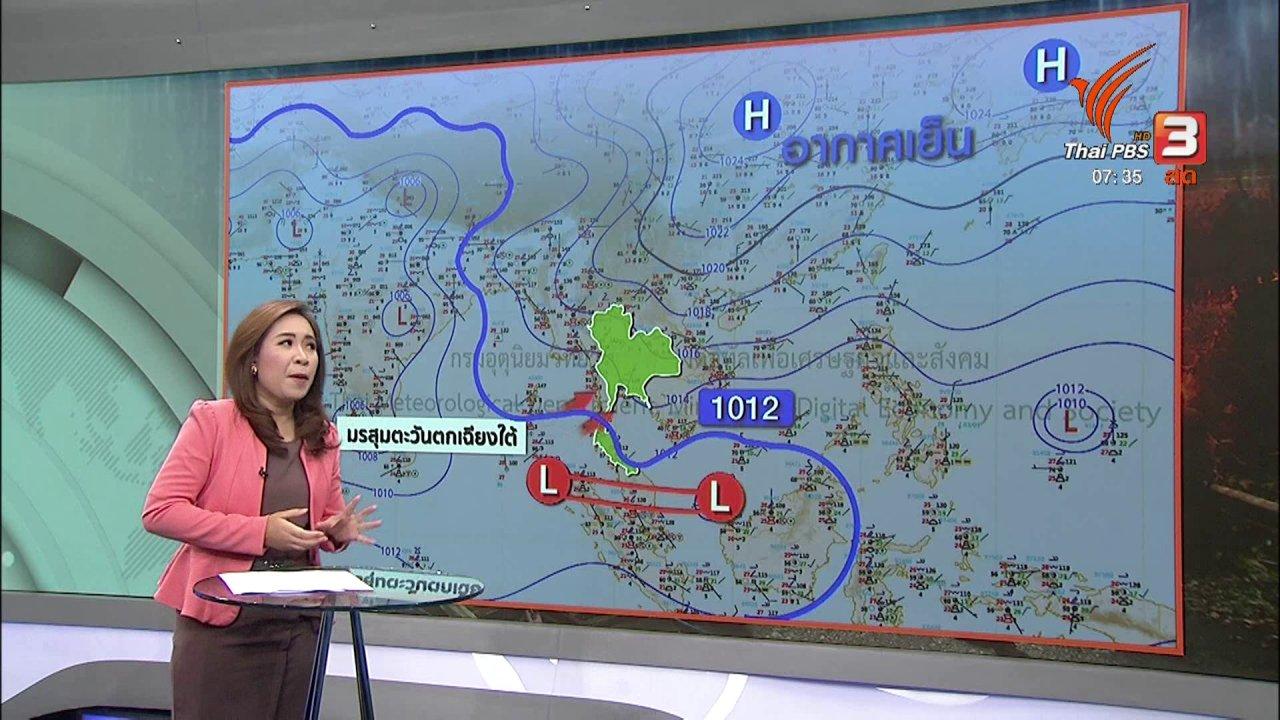 วันใหม่  ไทยพีบีเอส - ส่องความเสี่ยง : อากากาศเย็นหลงฤดู