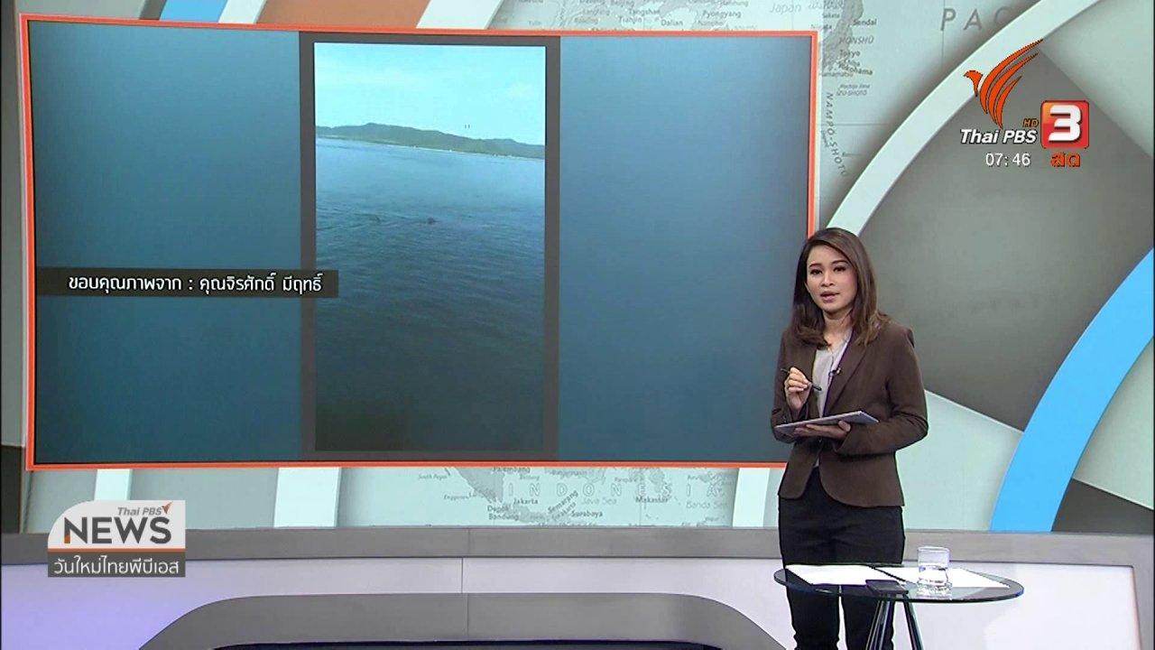 วันใหม่  ไทยพีบีเอส - C-site Report : สำรวจชุมชนหาดสวนสุข จ.อุบลฯ หลังน้ำลด