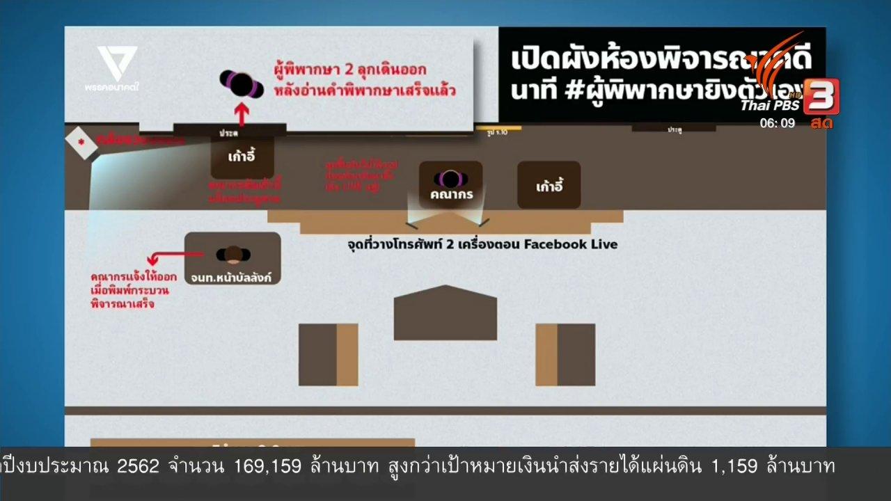 """วันใหม่  ไทยพีบีเอส - มุม(การ)เมือง : """"อนาคตใหม่"""" เรียกร้องเปิดภาพวงจรปิด """"ผู้พิพากษาคณากร"""""""