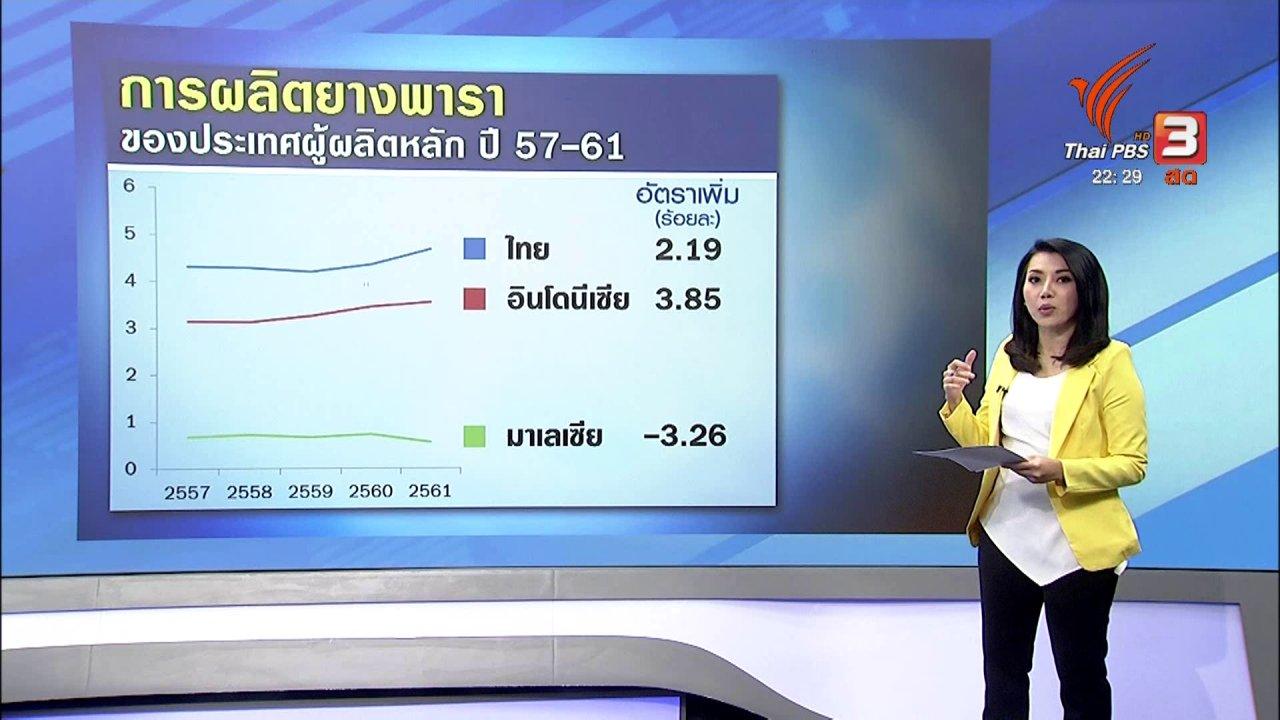 ที่นี่ Thai PBS - เตรียมดันประกันรายได้ยางพาราเข้า ครม.