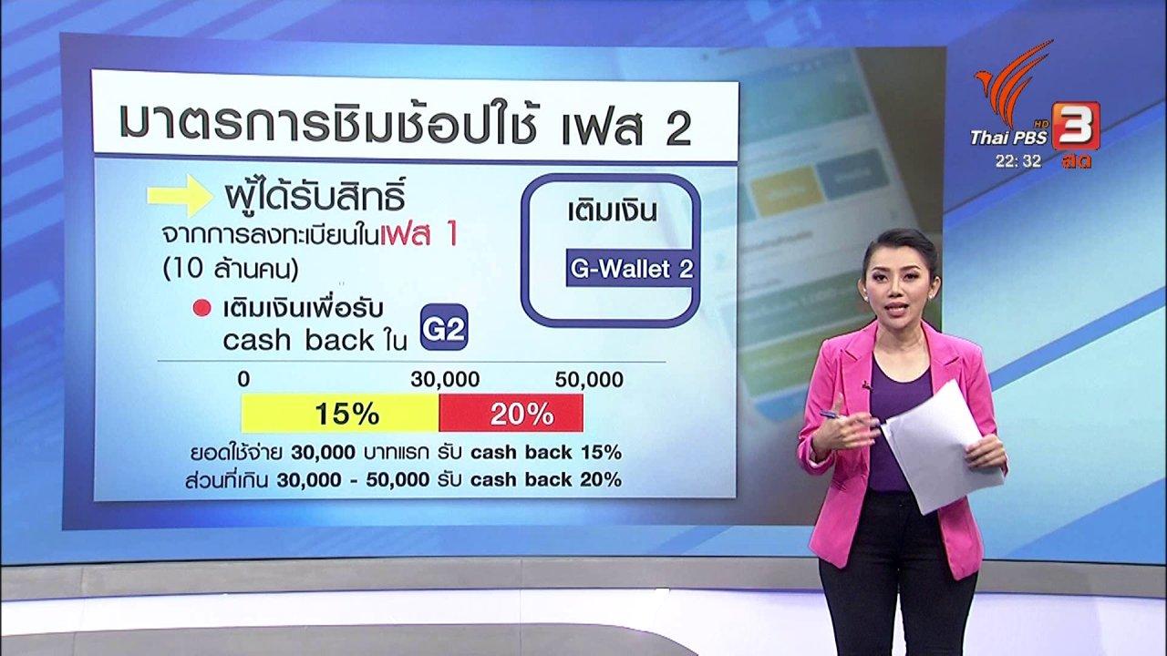 """ที่นี่ Thai PBS - ประเมิน """"ชิมช้อปใช้"""" เฟส 2"""