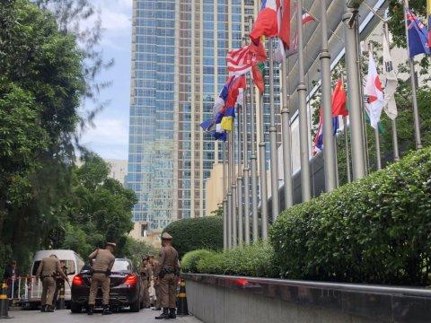 ผู้นำประเทศอาเซียนทยอยถึงไทย เข้ม รปภ.ที่พัก-สถานที่ประชุม