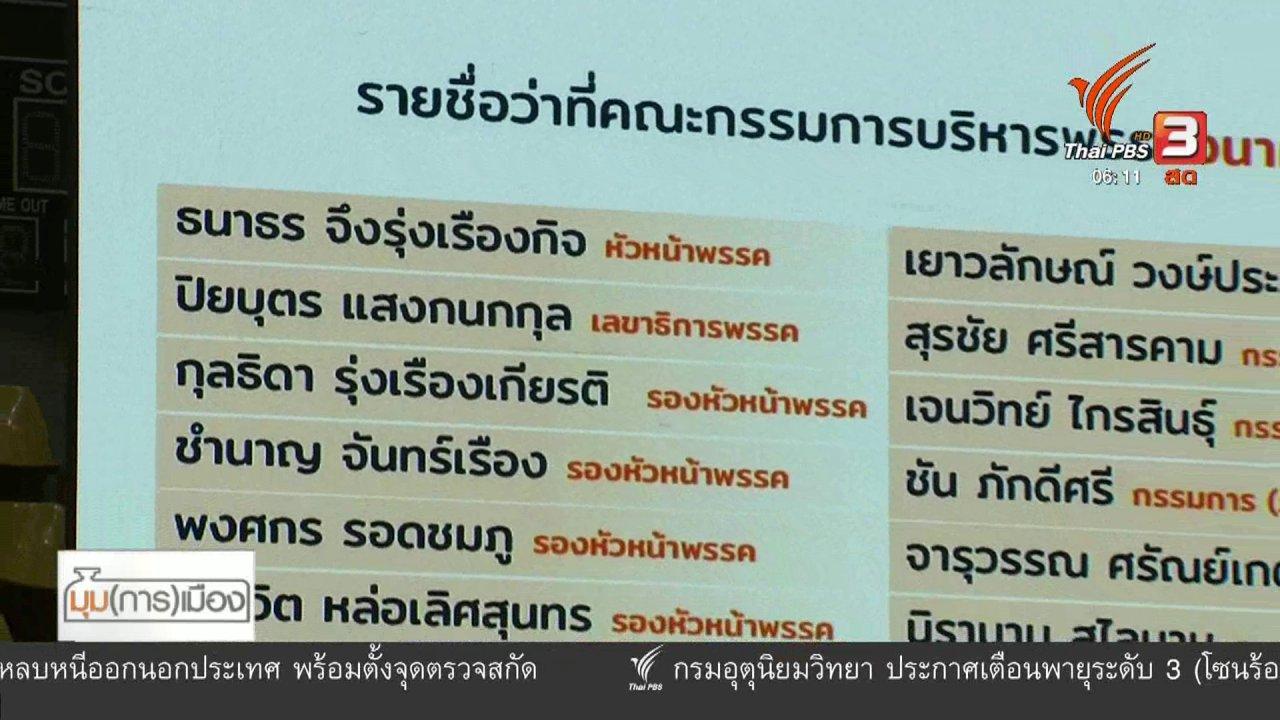 """วันใหม่  ไทยพีบีเอส - มุม(การ)เมือง : ประชาธิปไตยใน """"อนาคตใหม่"""""""