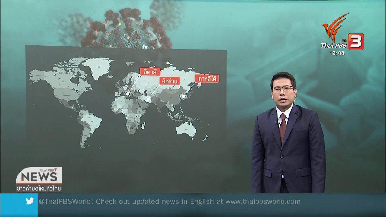 ข่าวค่ำ มิติใหม่ทั่วไทย - วิเคราะห์สถานการณ์ต่างประเทศ : ความหวังผลิตวัคซีนโควิด-19