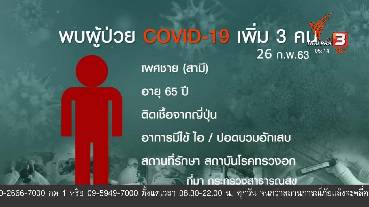 วันใหม่  ไทยพีบีเอส - แพทย์ขอให้ผู้ป่วยอย่าปกปิดข้อมูลการติดเชื้อไวรัส