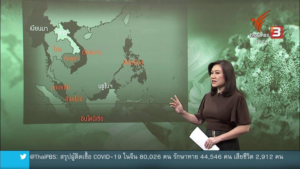 ข่าวค่ำ มิติใหม่ทั่วไทย - วิเคราะห์สถานการณ์ต่างประเทศ : ผู้เชี่ยวชาญโรคระบาดกังวลอาเซียนระบาดเงียบ