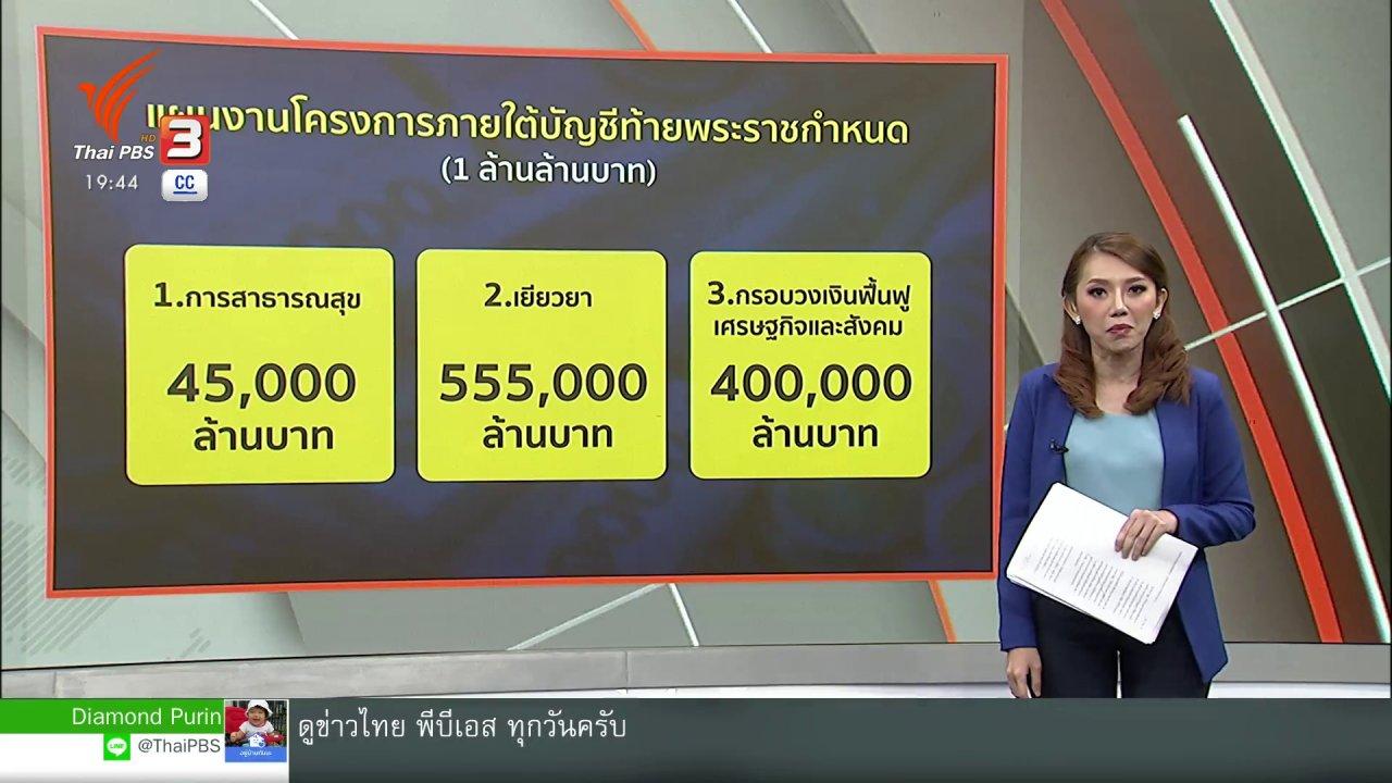 ข่าวค่ำ มิติใหม่ทั่วไทย - เจาะเงินกู้ 400,000 ล้าน
