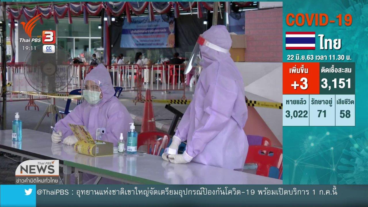 ข่าวค่ำ มิติใหม่ทั่วไทย - ศบค.เตรียมถกยกเลิก - ต่ออายุ พ.ร.ก.ฉุกเฉิน