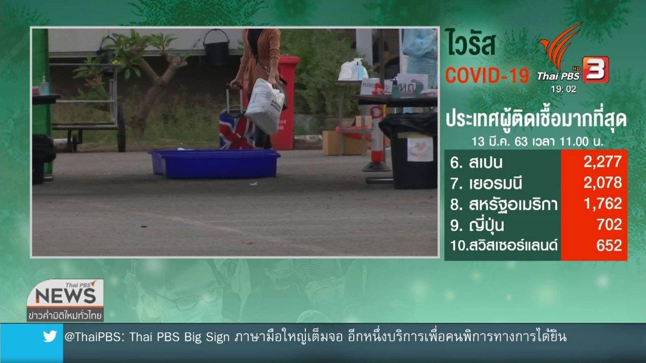 ข่าวค่ำ มิติใหม่ทั่วไทย - แนะกลุ่มเสี่ยงโควิด-19 เลี่ยงใกล้ชิดครอบครัว