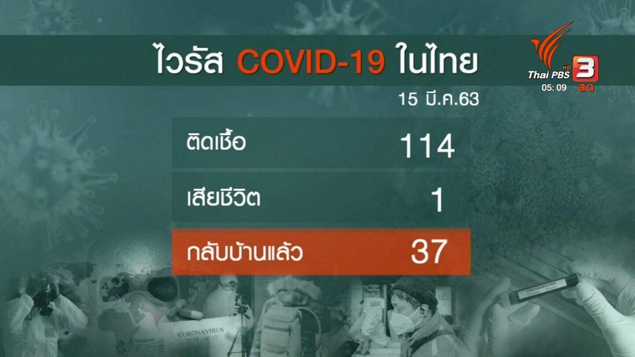 วันใหม่  ไทยพีบีเอส - สธ.พบผู้ป่วยติดเชื้อโควิด-19 เพิ่มอีก 32 คน