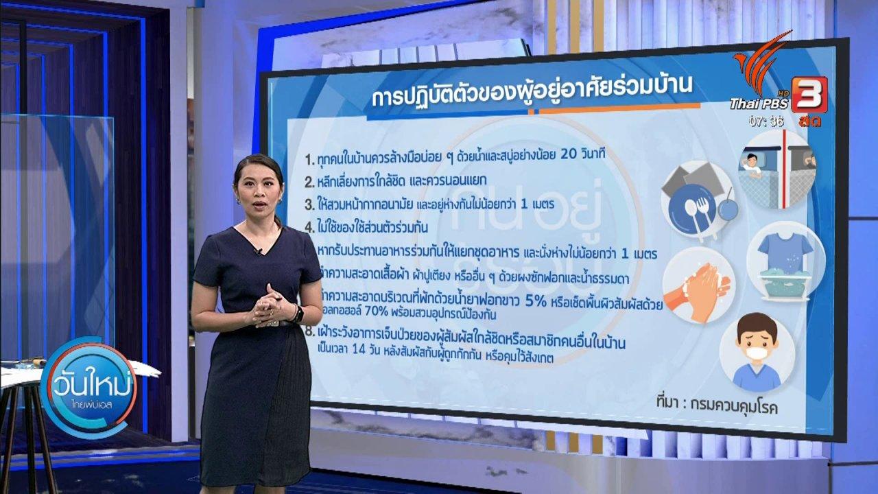 วันใหม่  ไทยพีบีเอส - กินอยู่รู้รอบ : กักตัวอย่างไร ไม่ให้จิตตก