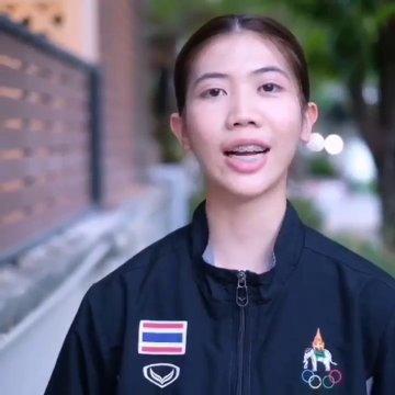 พาณิภัค วงศ์พัฒนกิจ นักกีฬาเทควันโดทีมชาติไทย ให้กำลังใจคนไทยสู้โควิด-19