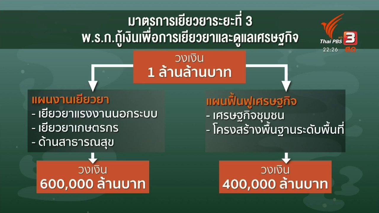ที่นี่ Thai PBS - ชี้แจงเยียวยา 5,000 บาท เบื้องต้น 3 เดือน