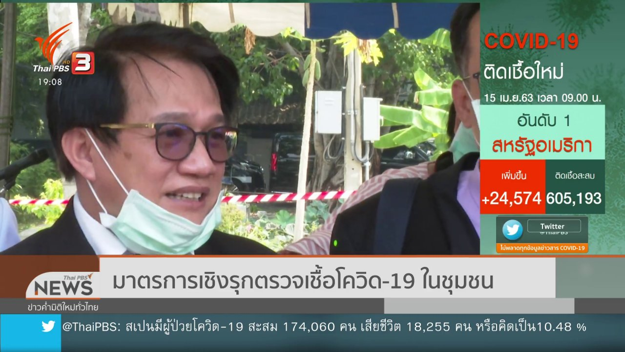 ข่าวค่ำ มิติใหม่ทั่วไทย - ศบค.พร้อมรองรับคนไทยกลับจาก ตปท.