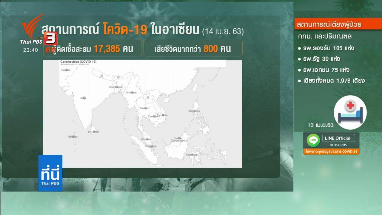 ที่นี่ Thai PBS - อาเซียน+3 รับมือโควิด-19