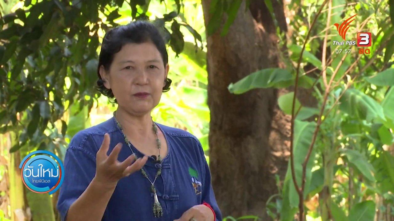 วันใหม่  ไทยพีบีเอส - ตอบโจทย์ภัยพิบัติ : เกษตรกรแปรรูปผลไม้ หลังขายไม่ออก