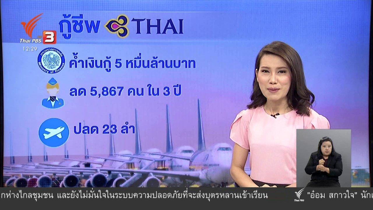 จับตาสถานการณ์ - วัคซีนเศรษฐกิจ : ลุ้น...กู้ชีพการบินไทย