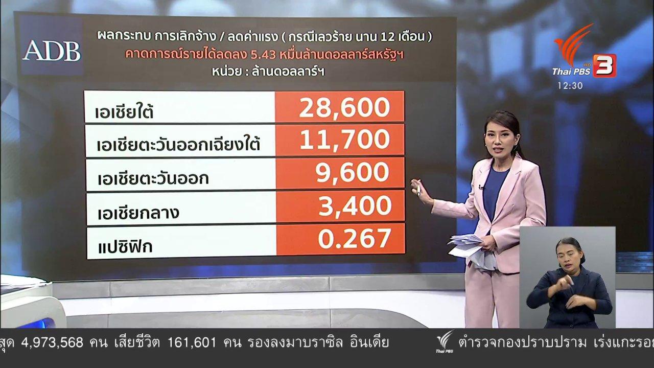 จับตาสถานการณ์ - วัคซีนเศรษฐกิจ : โอกาสแรงงานไทยไปนอก